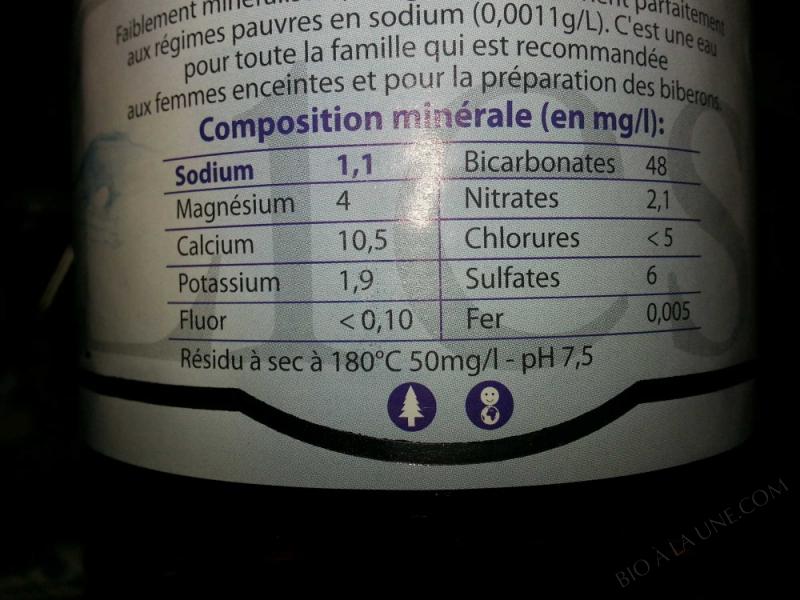 Bouteille PET eau plate nature 1,5 L - 1,5 l