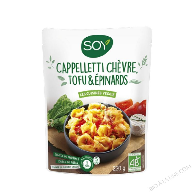 DOY CAPPELLETTI EPINARDS SOY - 220g