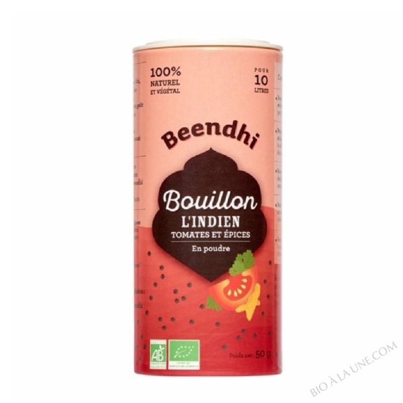 Bouillon L'Indien - Tomates Et ÉPices - 50 G
