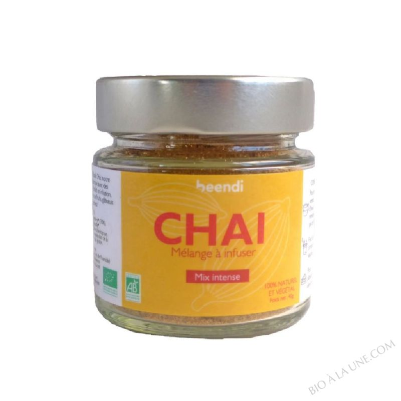 CHAI MIX INTENSE GINGEMBRE ET CARDAMOME 50G