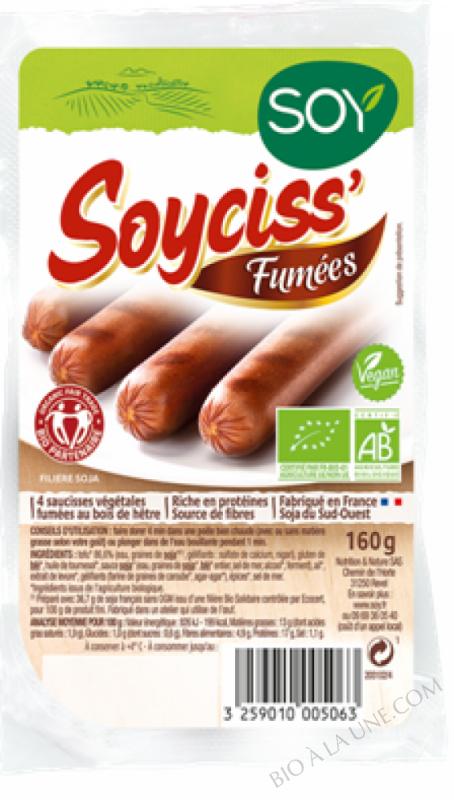 SOYCISS FUMÉES - 160 G