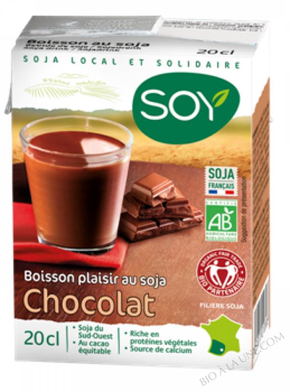 BOISSON SOJA CHOCOLAT 20CL SOY - 200g