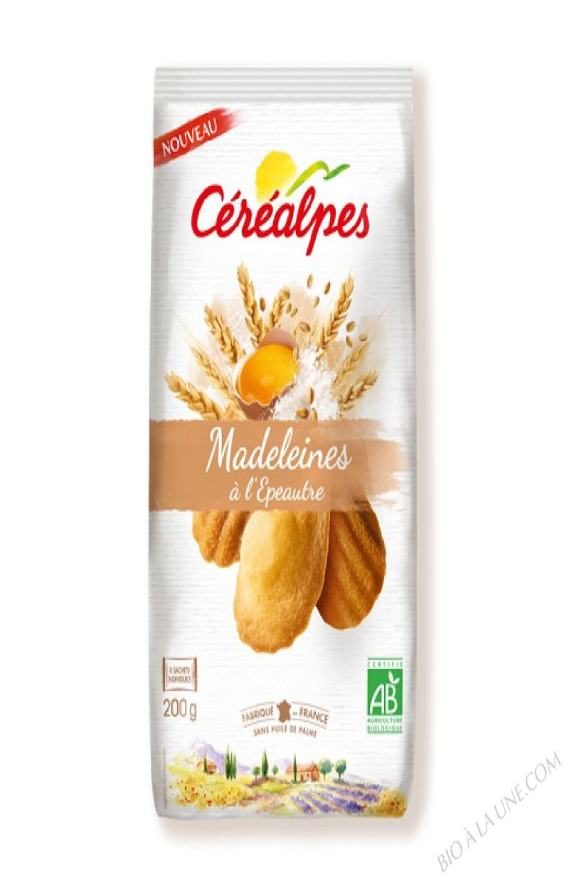 MADELEINES A L ÉPEAUTRE - 200 GRS