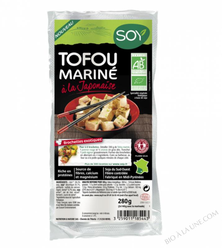 TOFOU Mariné à la japonaise 2 x 140 g