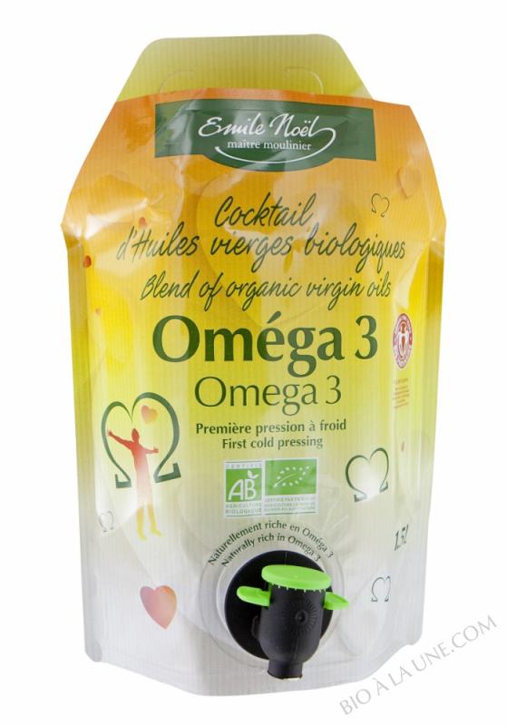 Huile Oméga 3 Bio Equitable - 1.5L