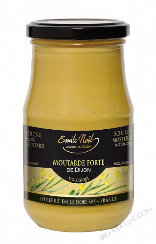 Moutarde forte de Dijon bio - 350g