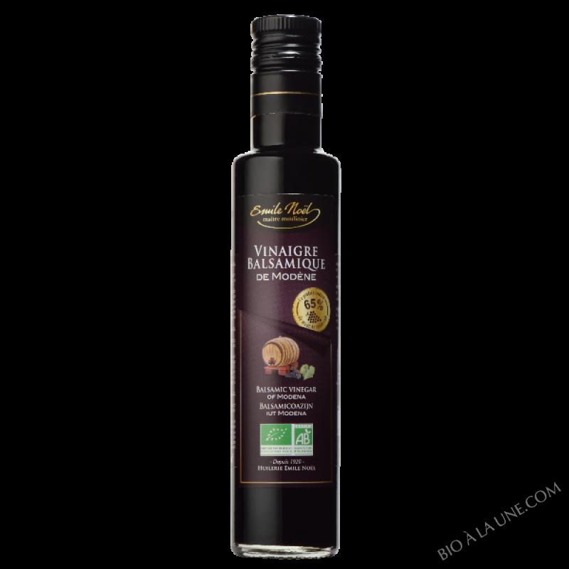 Vinaigre Balsamique de Modène bio 65% moût raisin - 250ml