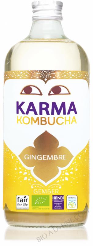 KOMBUCHA GINGEMBRE - 1L