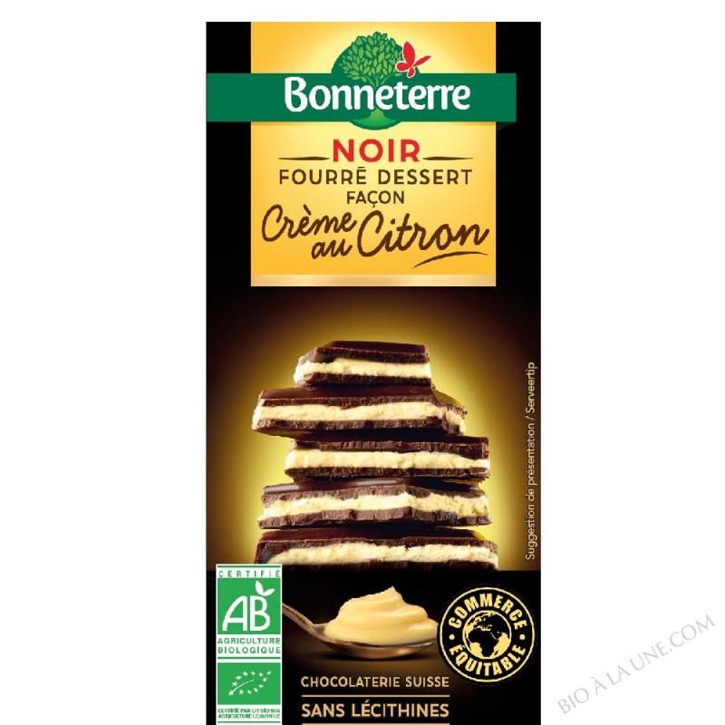 Noir Fourré Dessert façon Crème au citron
