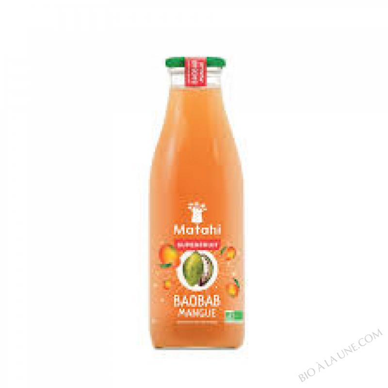 Boisson Baobab - Mangue Bio - 75 cl