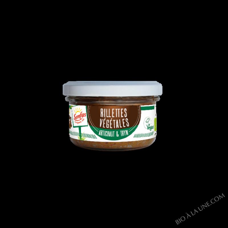 Rillettes Végétales -  Artichaut & Thym