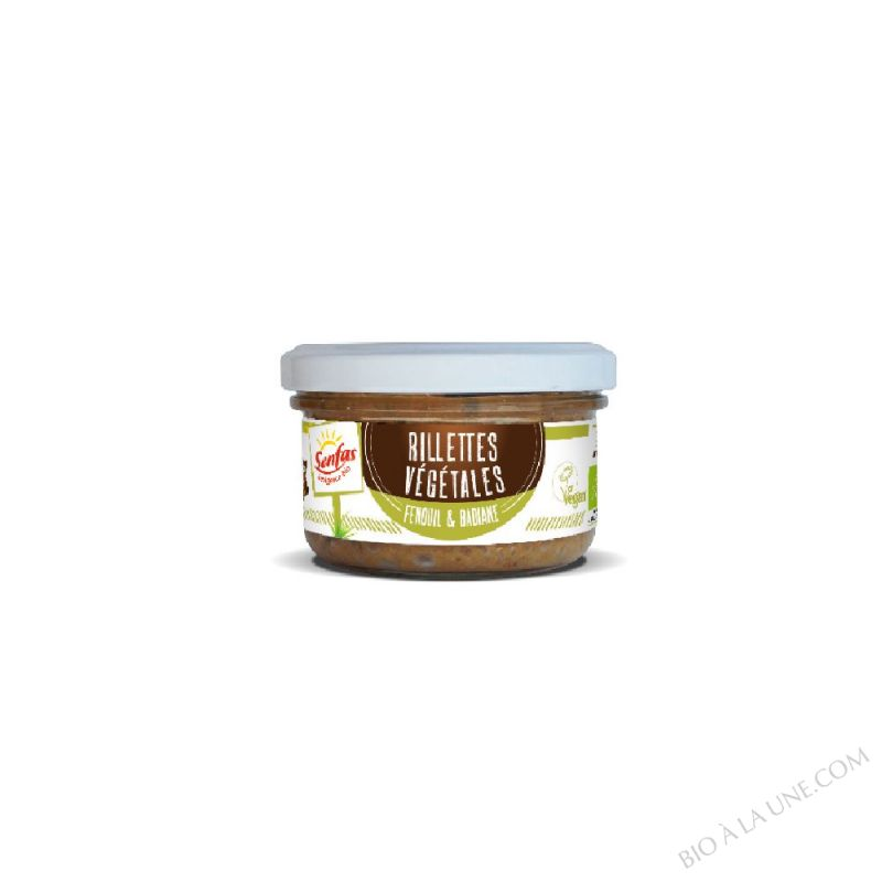 Rillettes Végétales - Fenouil & Badiane