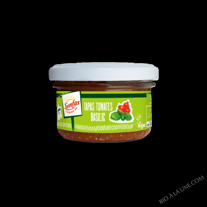 Tapas Tomates - Basilic