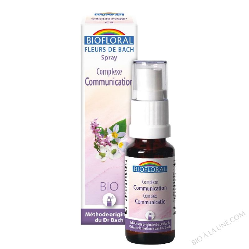 Fleurs de Bach Complexe C5 Communication spray - BIO DEMETER