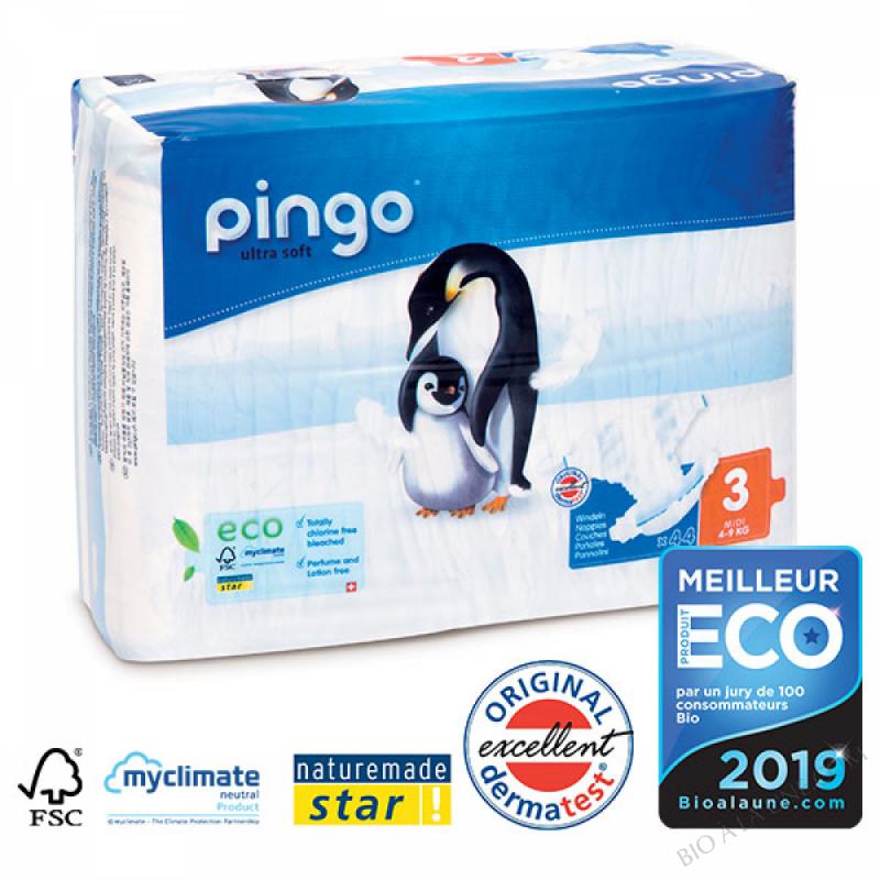 PINGO COUCHES ÉCOLOGIQUES T3 MIDI (4-9KG)