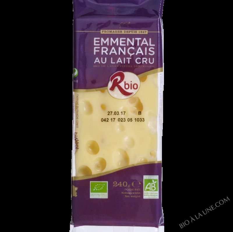 emmental portion 240g lait cru français