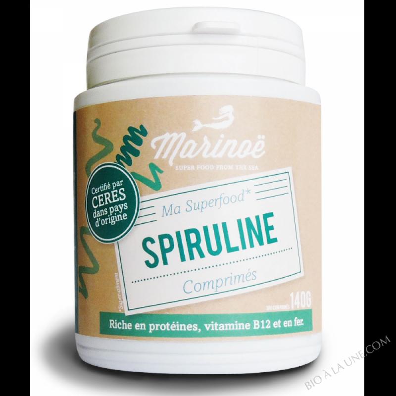 Spiruline comprimés - Marinoë