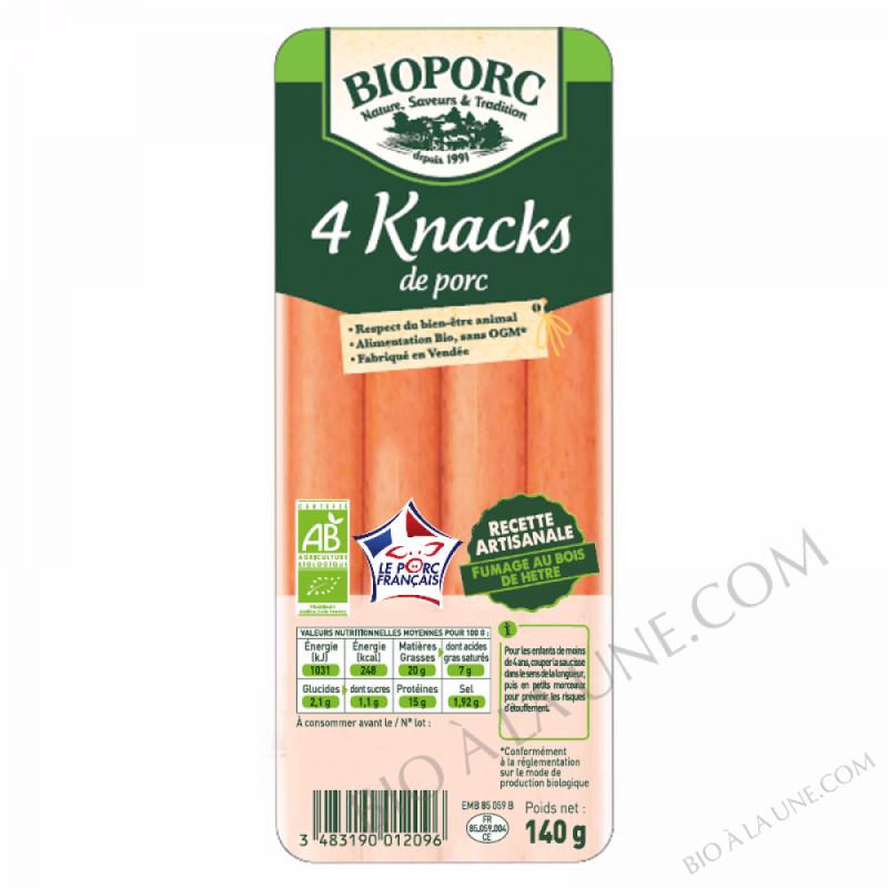KNACKS DE PORC 140G - 0,14KG