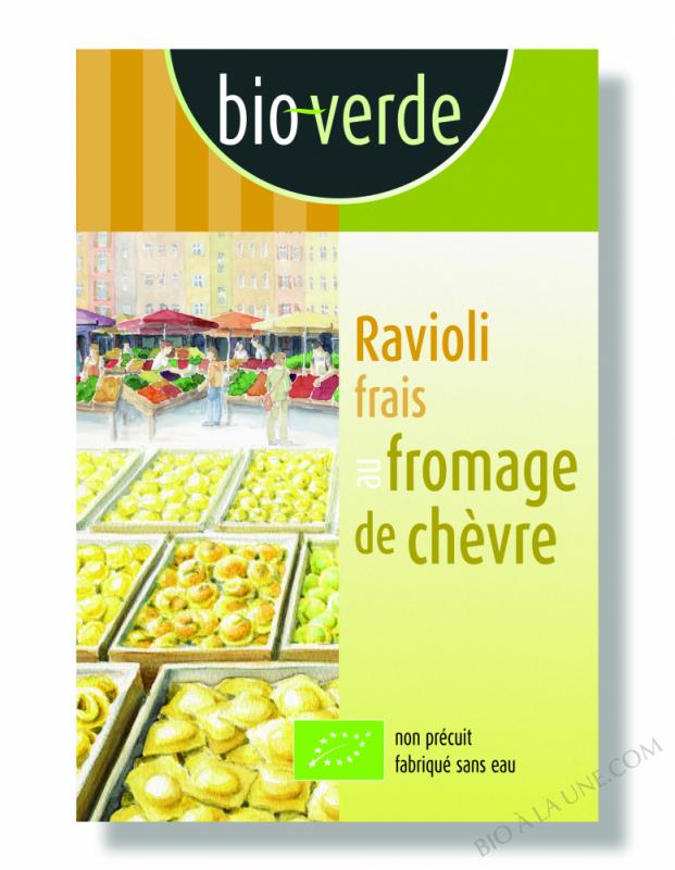 Ravioli Frais Au Fromage De Chèvre - 250G