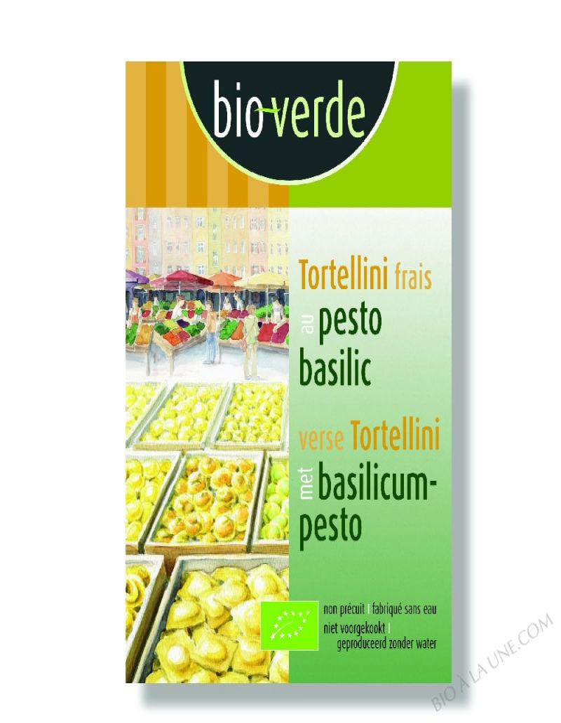 Tortellini Frais Au Pesto Basilic - 200G