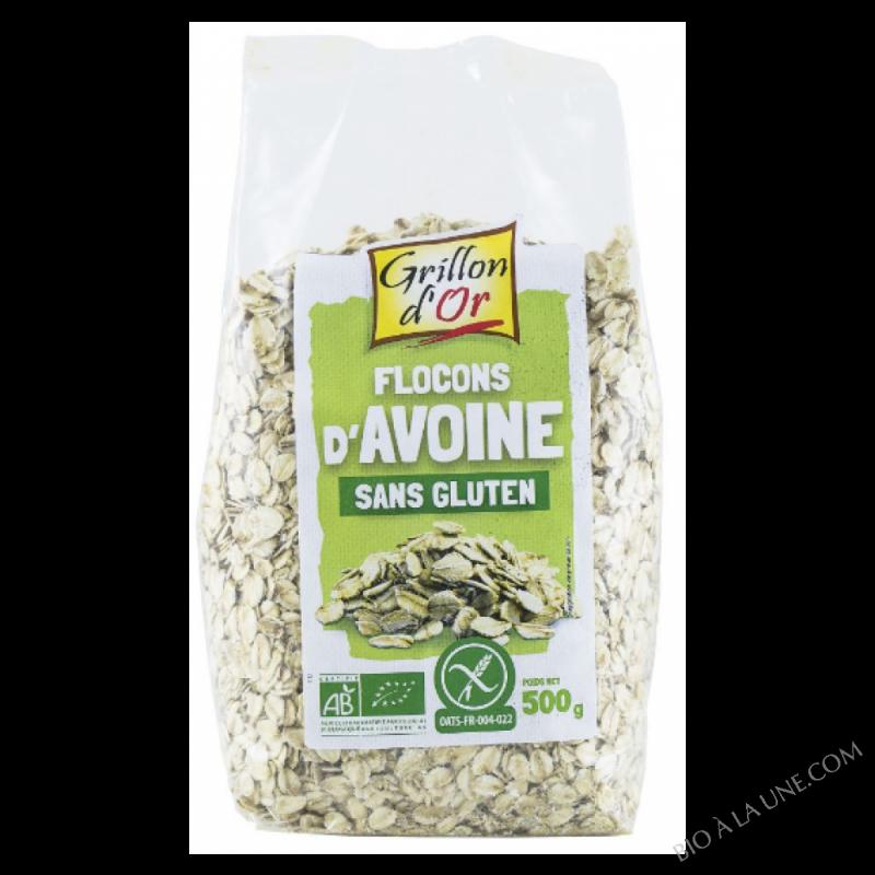 Flocons d'avoine Sans Gluten - 500g