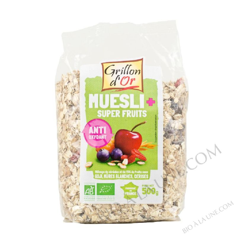 Muesli Plus Super fruits 500g