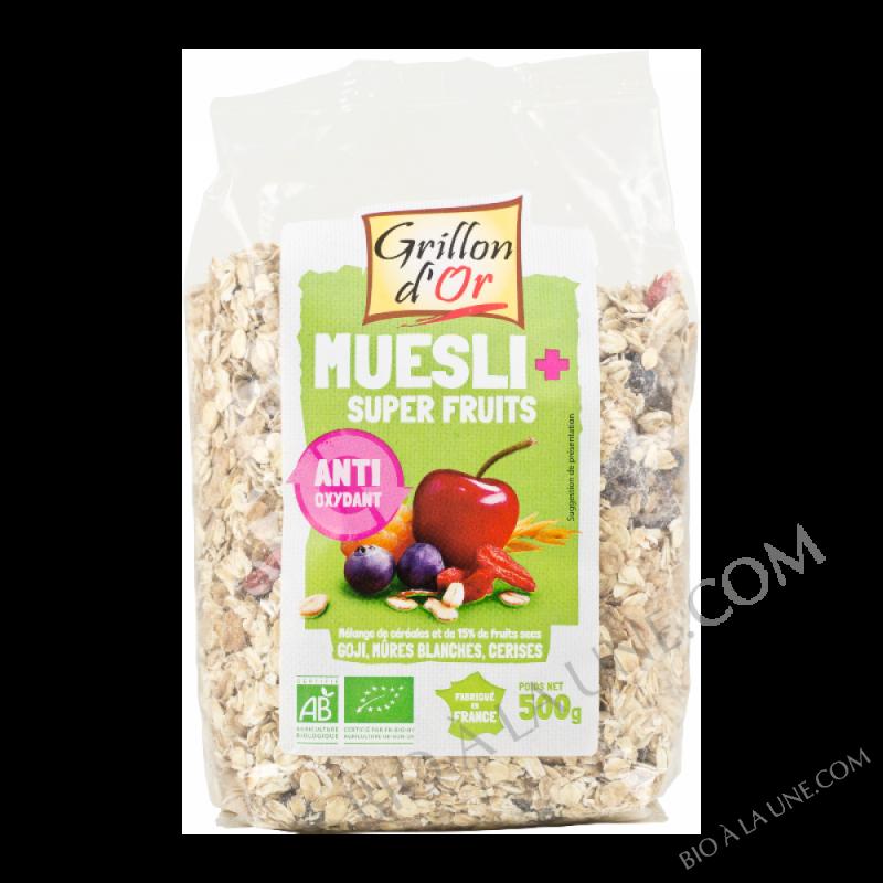 Muesli Plus Super fruits 500g