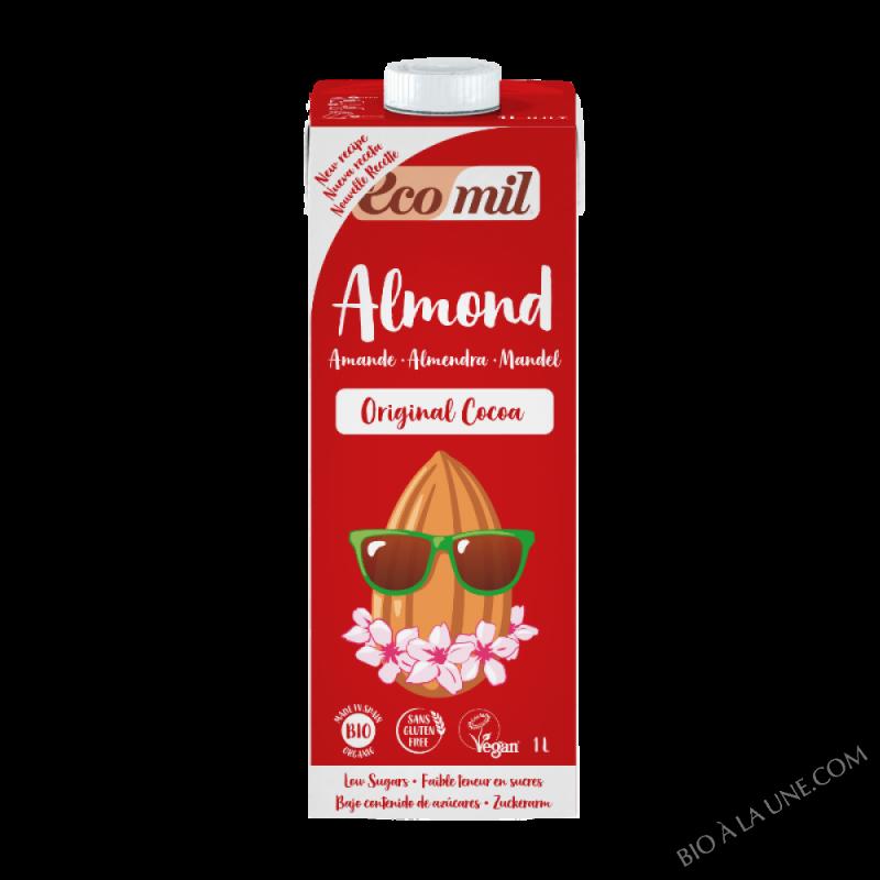 Lait d'amande cacao Original Bio - 1L