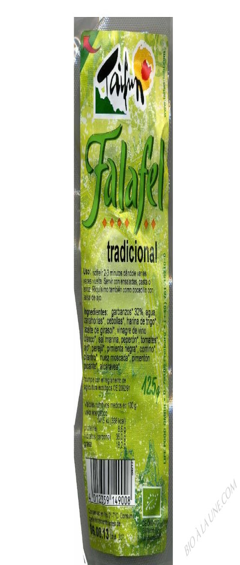 FALAFELS POIS CHICHES (6) 125G TAIFUN