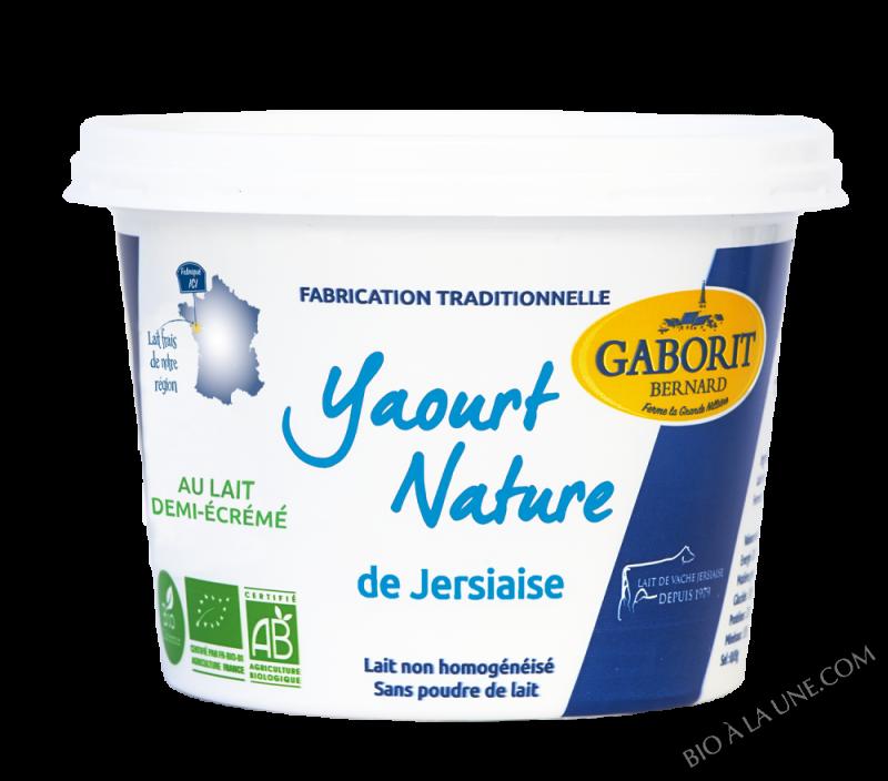 YAOURT NATURE DE JERSIAISE - 500G
