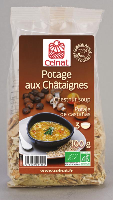 CELNAT Potage aux Châtaignes BIO - 100g