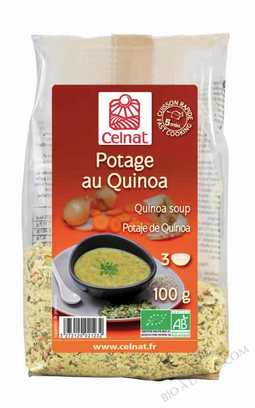 CELNAT Potage au Quinoa BIO - 100g