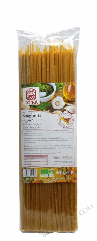 CELNAT Spaghetti complèts BIO - 500g