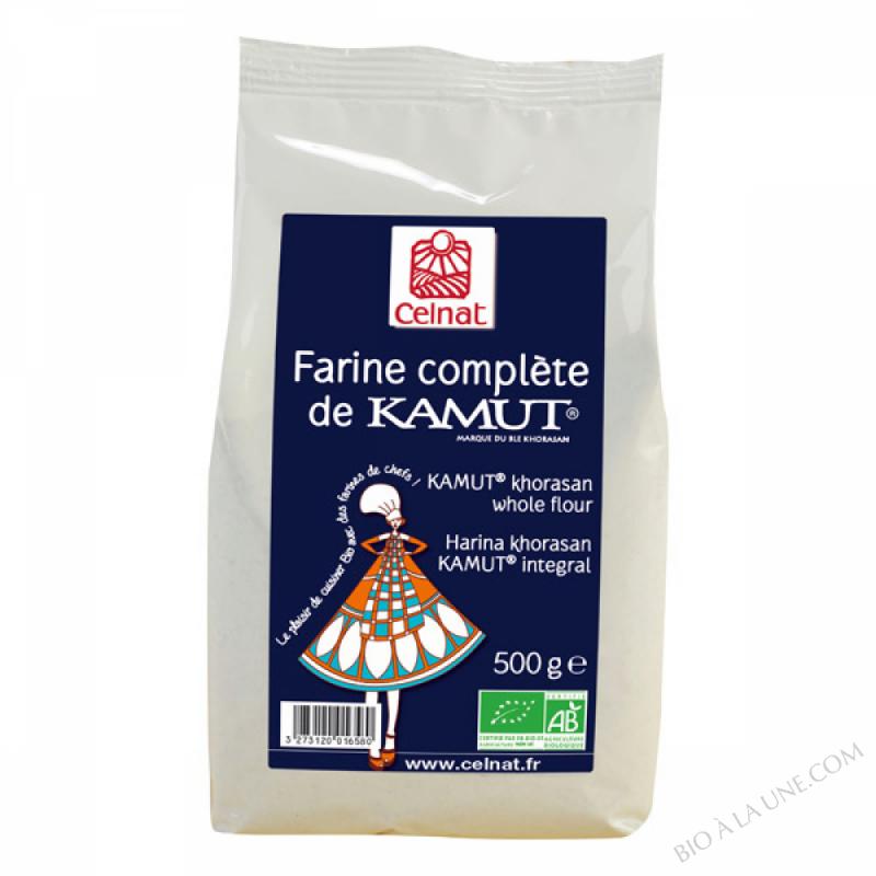 CELNAT Farine complète de Blé khorasan KAMUT® BIO - 25KG