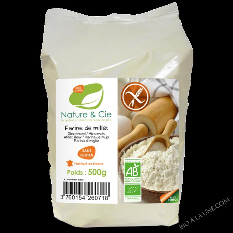 Farine de millet - 500g