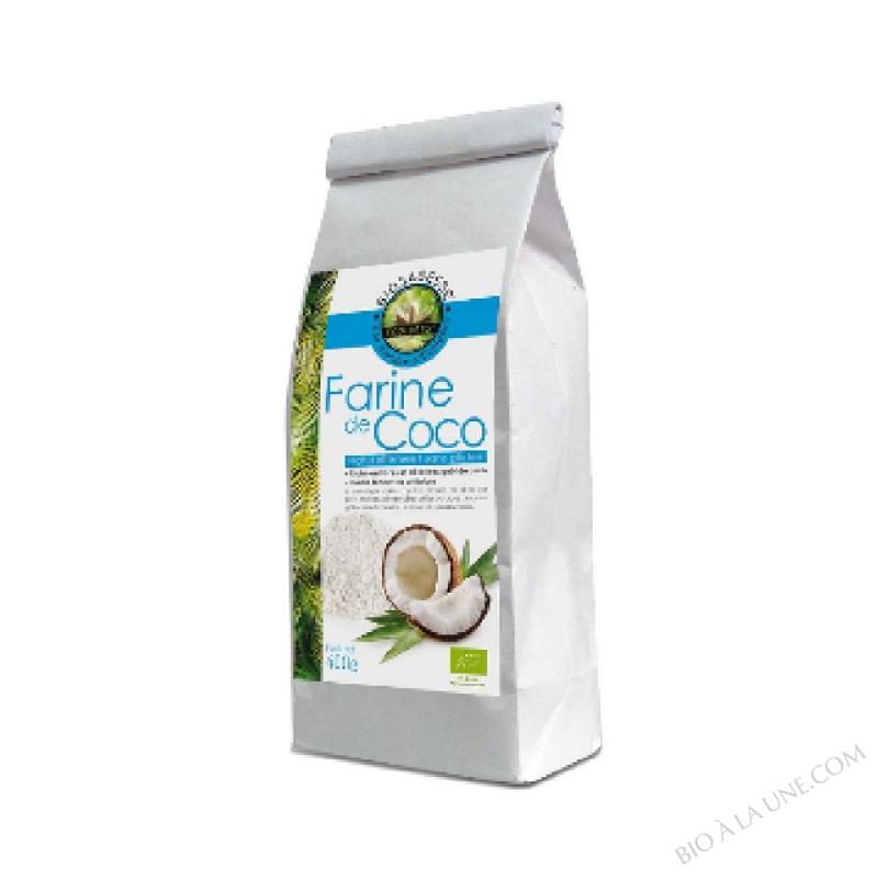 Farine de coco  BIO & EQUITABLE (FairTSA)  - sachet 400g