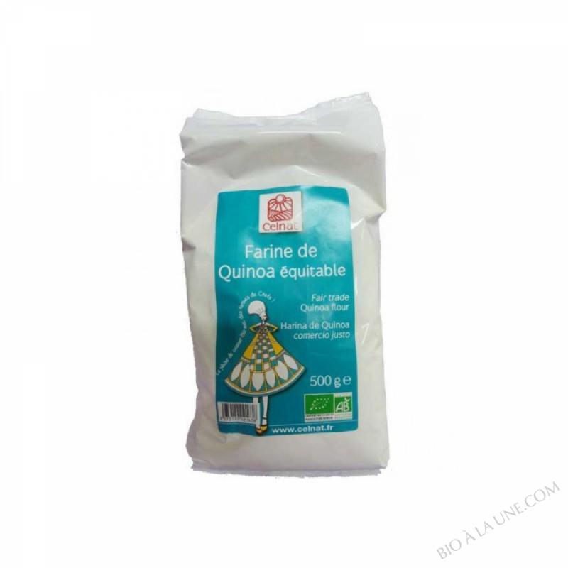 CELNAT Farine de Quinoa BIO - 500G