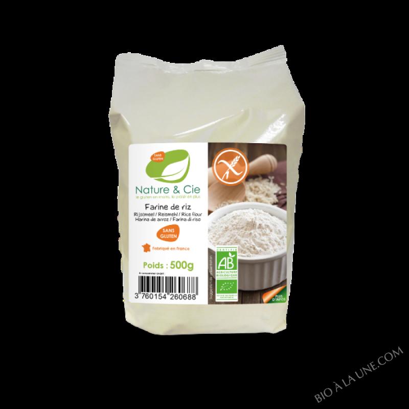 Farine de riz - 500g