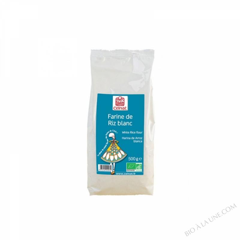 CELNAT Farine de Riz blanc BIO - 500G