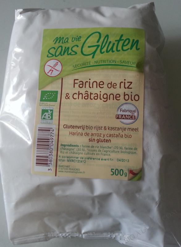 Farine de Riz et Châtaignes
