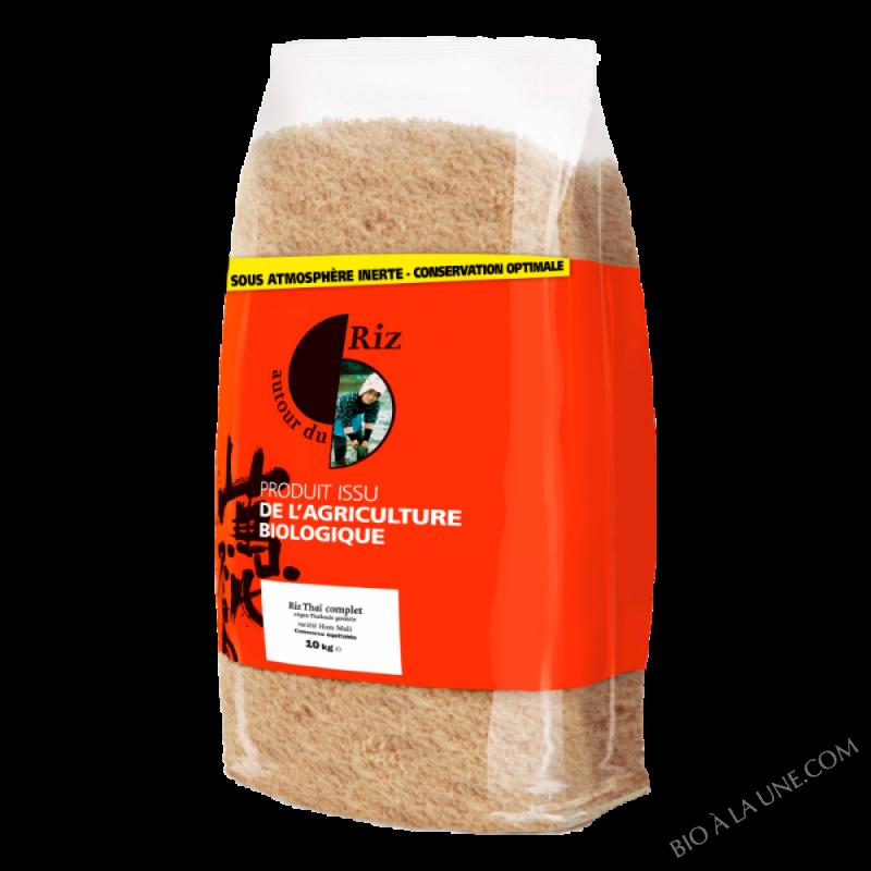 Riz thaï complet bio 10kg