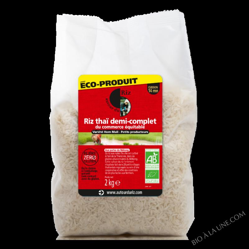 Riz thaï 1/2 complet 2kg