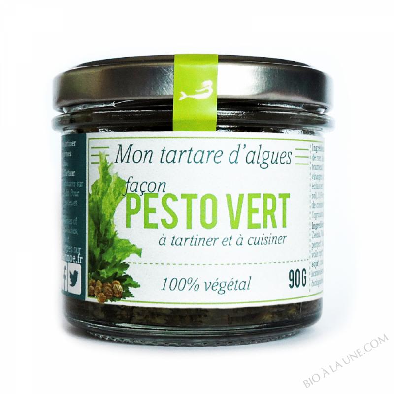 Tartare d'algues façon Pesto Vert 90g - Marinoë