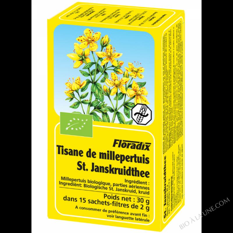 Tisane Floradix Millepertuis 15 sachets