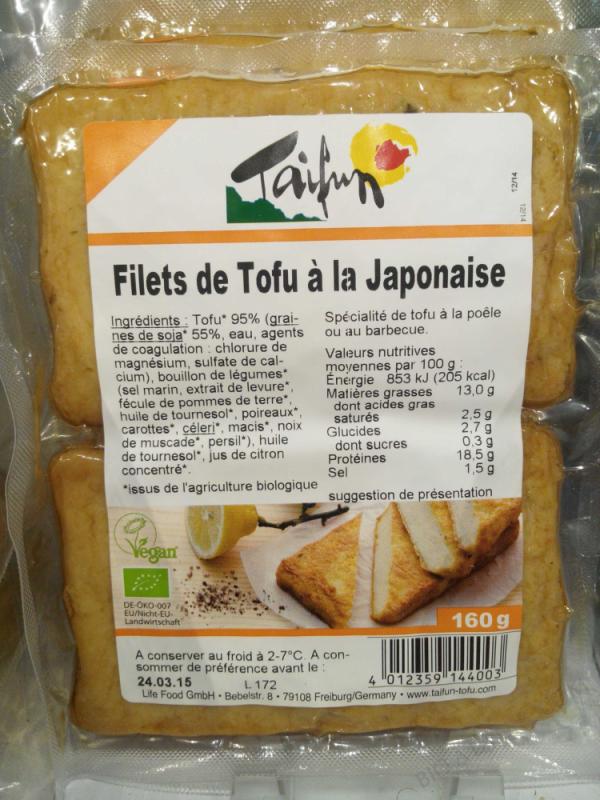 Filet Tofu A La Japonaise - 2x80G