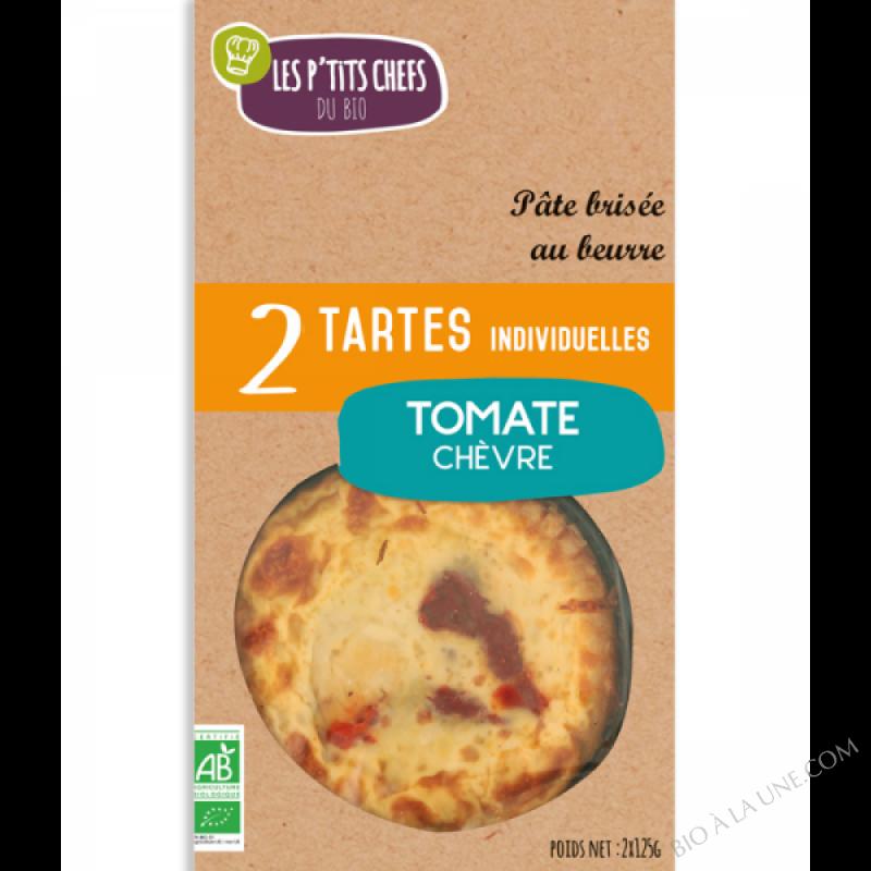 TARTES TOMATE CHÈVRE  2 X 125G