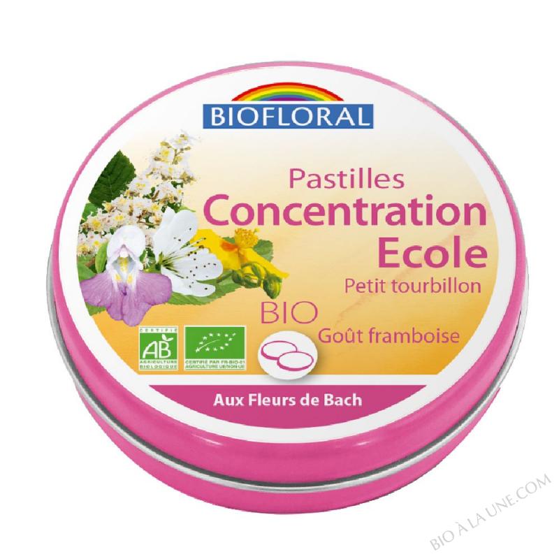 FDB Pastilles concentration ecole petit tourbillon BIO - 50 g