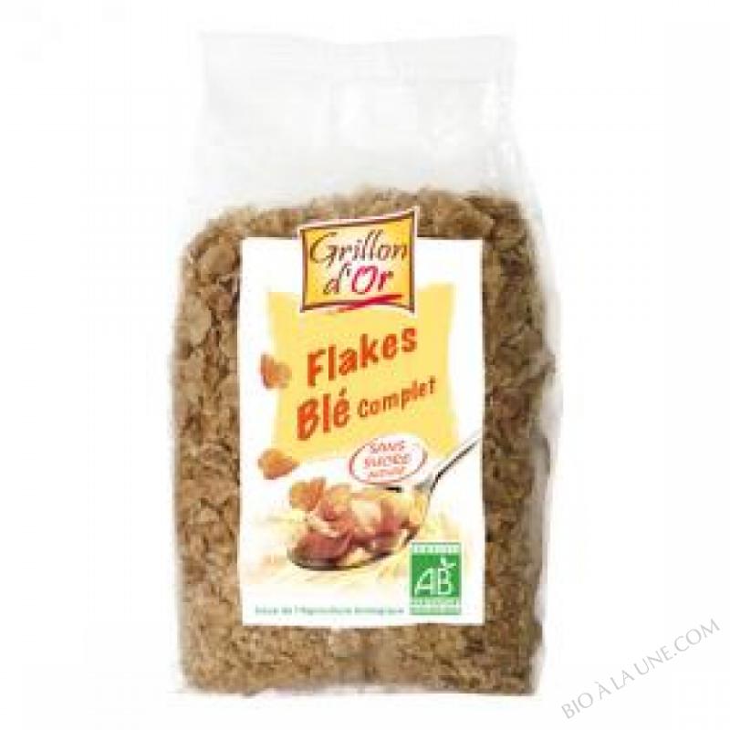 Flakes de ble complet nature 300g