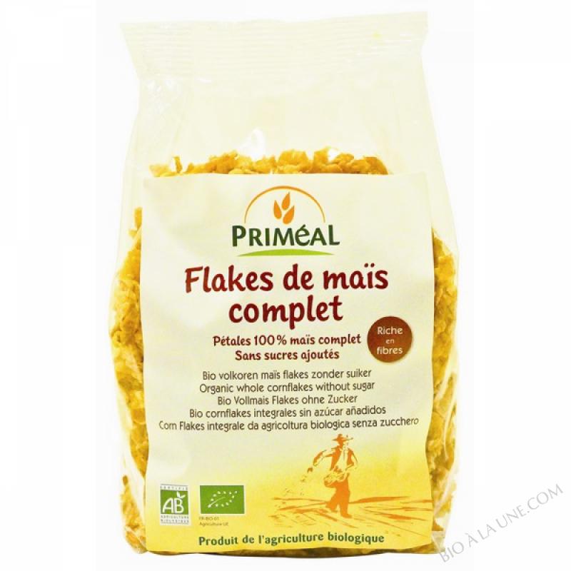 Cereales Flakes au Mais Complet 200gr