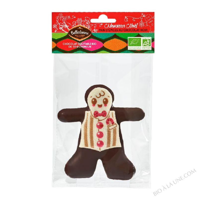 BONHOMME PAIN D'EPICE CHOCOLAT NOIR